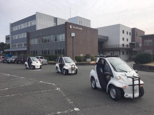 熊本高等専門学校に導入されたRoboCar MV2