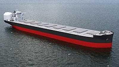 20万トン級LNG燃料ばら積み運搬船(イメージ)
