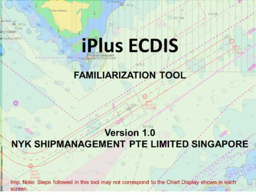 iPlus ECDISの表紙画面