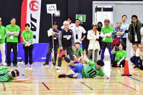 20190128nyk23 500x334 - 日本郵船/全国横断パラスポーツ運動会に出場