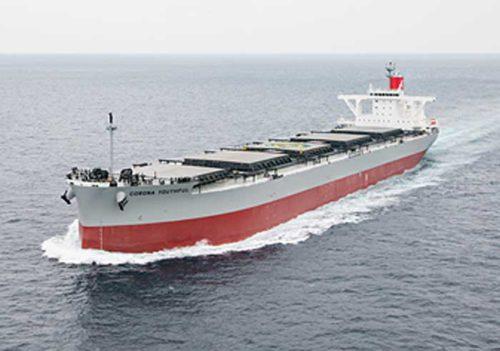 20190201kline 500x351 - 川崎汽船/9.1万トン型石炭船「CORONA YOUTHFUL」を竣工