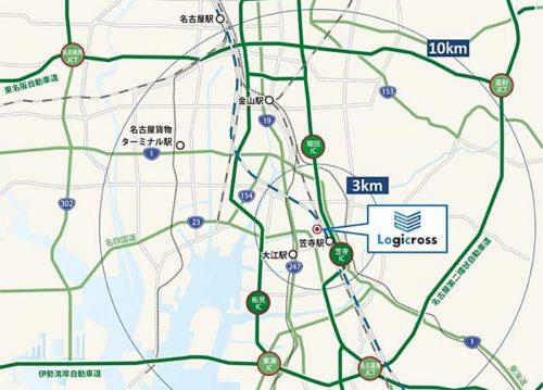 20190204mitsubishi2 500x359 - 三菱地所/名古屋に最大8万m2の物流施設完成、DHL等5社で入居率50%