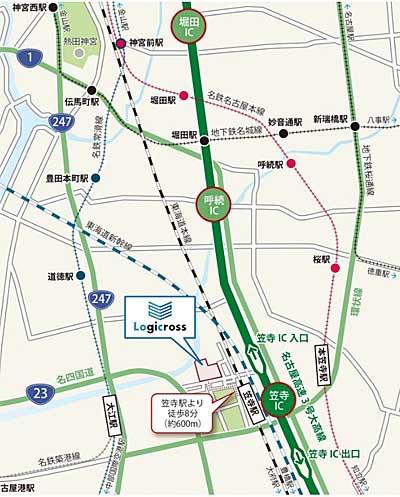 20190204mitsubishi3 - 三菱地所/名古屋に最大8万m2の物流施設完成、DHL等5社で入居率50%