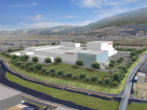 20190205shiseido 500x375 - 資生堂/400~500億円投じ、福岡県久留米市に新たな生産拠点