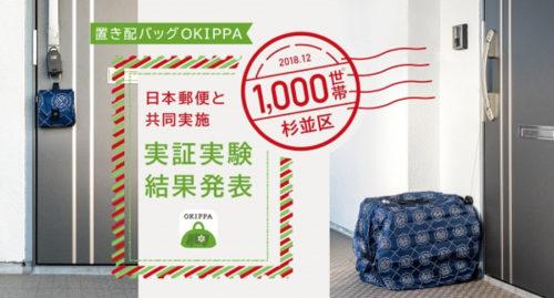 日本郵便と共同実証実験