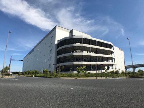 関通 関西主管センター1万坪のうち4000坪がRakuten Fulfillment Center Amagasakiとなる
