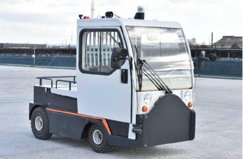 20190212ana1 500x327 - ANAなど/佐賀空港で貨物コンテナ牽引車両の自動走行実験