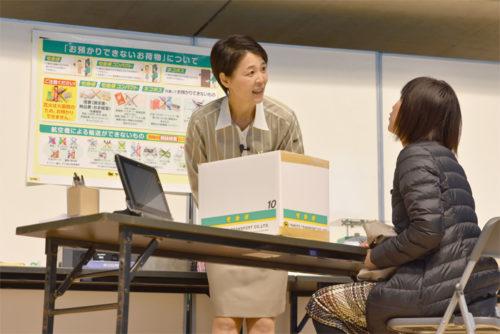 優勝者 金子 有紀子さんの演技のようす