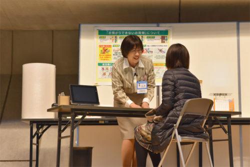 準優勝者 太田 さやかさんの演技のようす