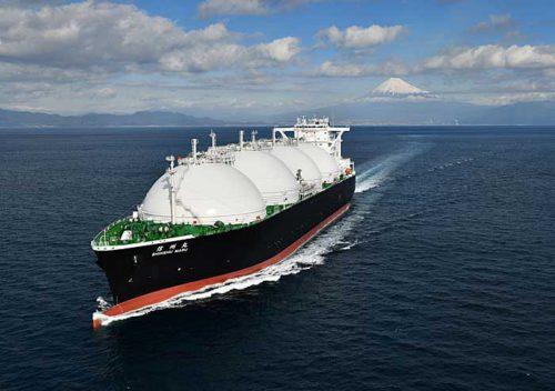 20190215kawasaki 500x352 - 川崎重工/日本郵船出資会社へ17.7万m3型LNG運搬船引渡し