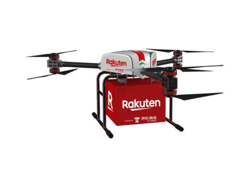 20190221rakuten1 500x356 - 楽天、JD.com/日本でのドローンと地上配送ロボット導入で合意