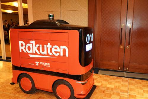 20190221rakuten3 500x334 - 楽天、JD.com/日本でのドローンと地上配送ロボット導入で合意