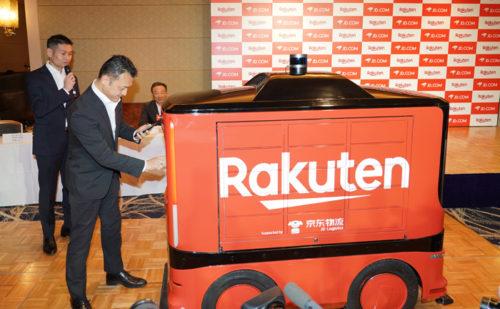 20190221rakuten4 500x309 - 楽天、JD.com/日本でのドローンと地上配送ロボット導入で合意