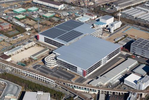 ESR 市川ディストリビューションセンター航空写真