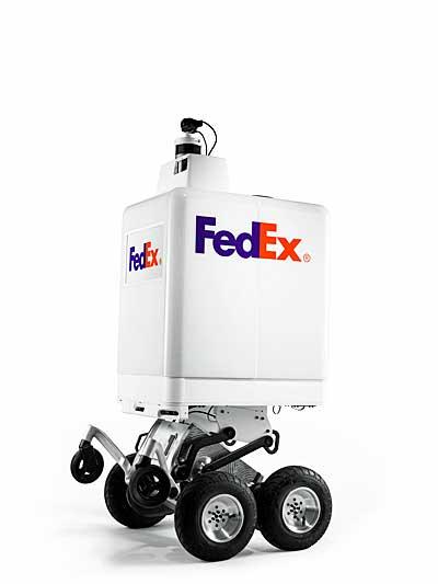 20190305fedex - フェデックス/小売企業向けの自律式配達ロボットを発表