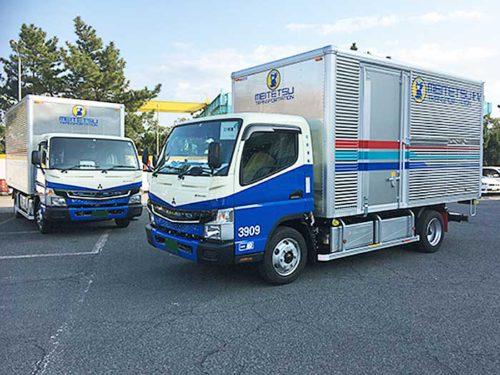 20190306mitsubishifuso 500x375 - 三菱ふそう/名鉄運輸へ電気小型トラック「eCanter」5台を納車