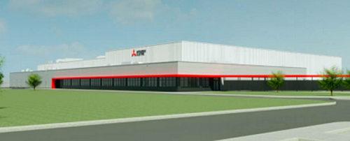 MEAC 新工場のイメージ