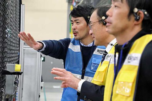 20190312amazon3 500x334 - アマゾン/川崎フロンターレに資材管理の方法など提案