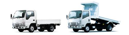 小型トラック「エルフ」追加車型