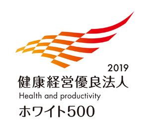 健康経営優良法人2019のロゴ