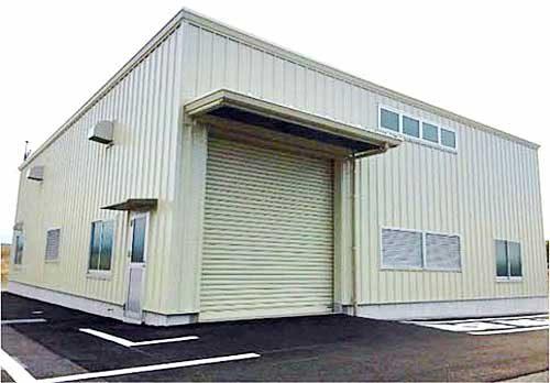 京葉臨海支店(ガス破壊設備棟)