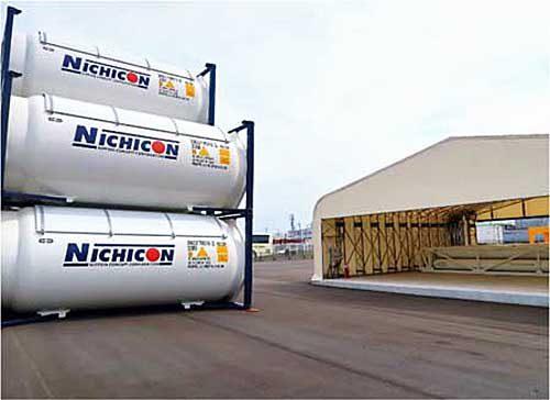 20190319nichicon2 500x364 - 日本コンセプト/千葉・神戸で倉庫兼作業施設を増築