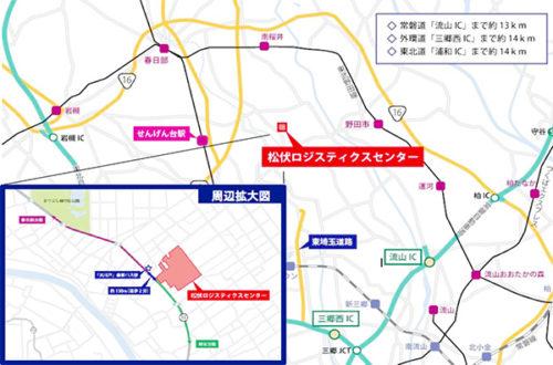 20190321orix3 500x330 - 埼玉県松伏町の新物流センター/4月15~17日内覧会、ロボット体験会も