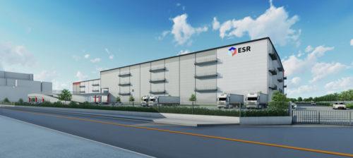 20190322esr1 500x224 - ESR/埼玉県戸田市に8.6万m2のマルチテナント型物流施設開発