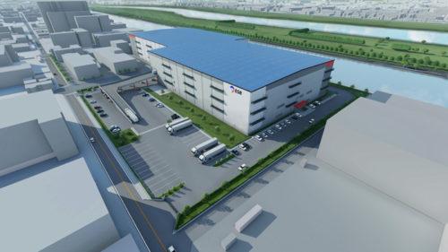 20190322esr2 500x281 - ESR/埼玉県戸田市に8.6万m2のマルチテナント型物流施設開発