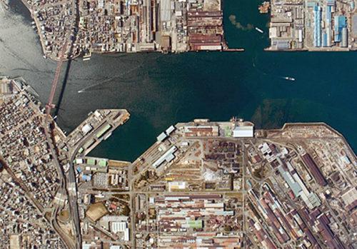 北九州港戸畑地区公共埠頭周辺地域