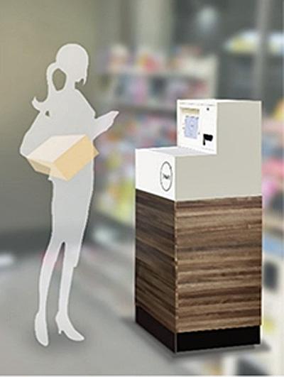 専用BOXイメージ(高さ135㎝、横55㎝、奥行き66㎝)