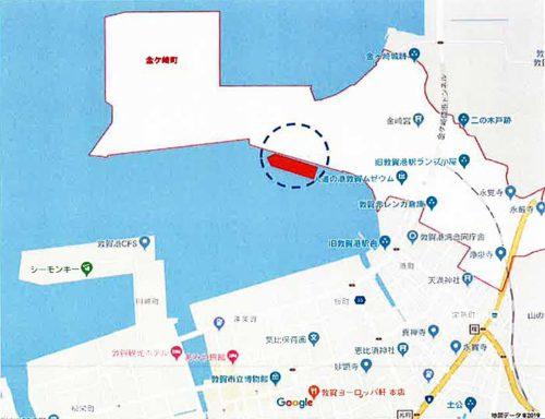敦賀港着岸場所