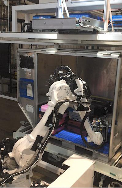 20190326ana22 - ANA/手荷物の自動積付、コンテナ搬送の自動化技術実用化目指す