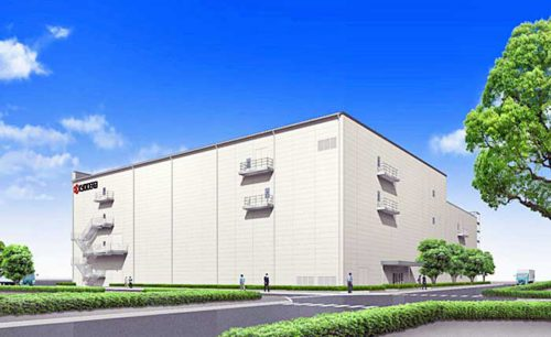 新工場棟の完成予想図