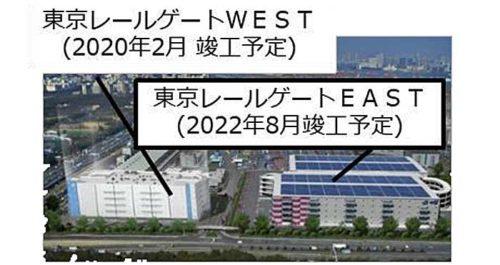東京レールゲート完成予想図