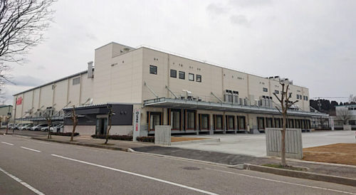 アルビスプロセスセンター外観