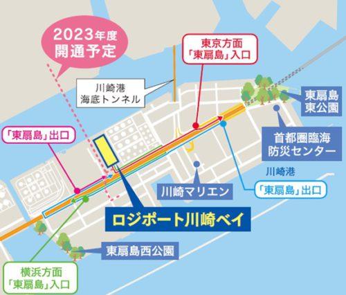 20190404lasalle3 500x426 - 「ロジポート川崎ベイ」竣工前内覧会/4月16日開催