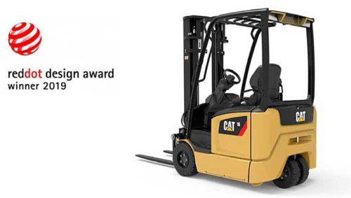 レッドドット・デザイン賞を受賞したフォークリフト