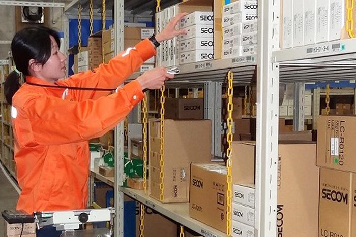 NTTロジスコ/セコムの在庫適正化、業務の効率化を推進