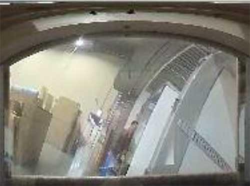 360度カメラによる衝撃感知時の映像