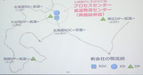 製造と物流施設位置図
