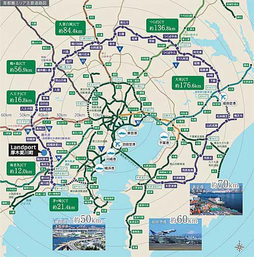 20190415asahilogi2 500x505 - アサヒロジ/神奈川県愛川町に1.3万m2の倉庫新設