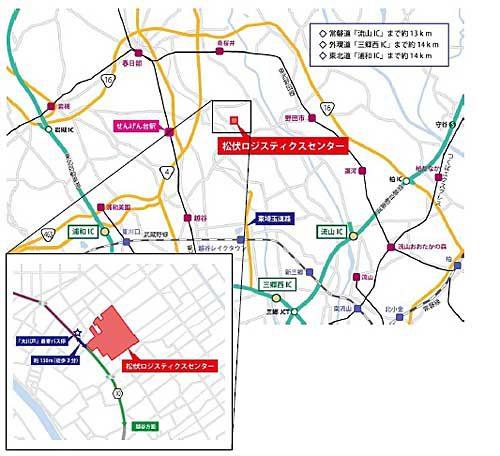 20190416orix4 500x456 - オリックス/埼玉県松伏町で最新の7.7万m2マルチテナント型物流施設公開