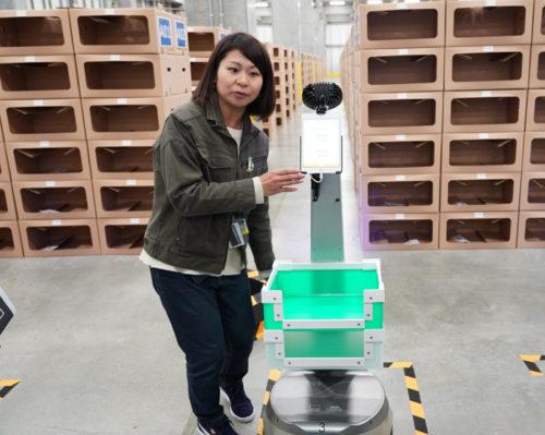20190418ground2 500x399 - GROUND/ピッキング作業を人と協働で行う、自律型ロボット公開
