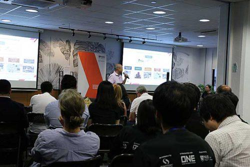 MPAの担当者がシンガポール政府のスタートアップ支援を紹介