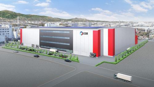 20190419esr1 500x282 - ESR/神奈川県茅ケ崎市に6.9万m2のマルチテナント型物流施設を開発