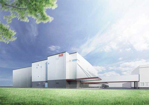 20190422coca1 500x351 - コカ・コーラ/140億円超で埼玉に国内最大の自動物流センター建設