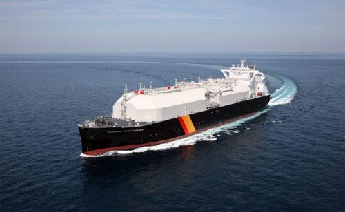 20190422nyk 500x308 - 日本郵船/三菱商事向けの新造LNG船を命名