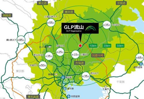 20190423glp3 500x346 - 日本GLP/千葉県流山市に国内最大級の全8棟、90万m2の物流施設開発