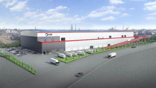 20190425esr1 500x282 - ESR/羽田空港至近、神奈川県川崎市に7.5万m2の物流施設開発